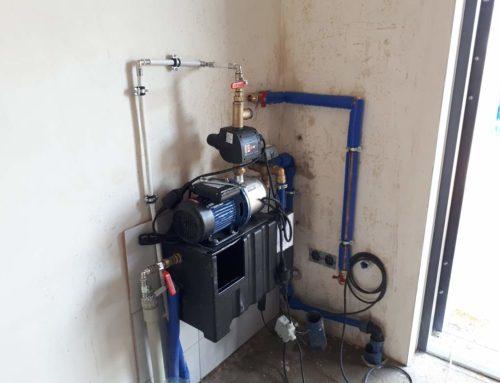 Montaż systemu do gromadzenia wody deszczowej domowo-ogrodowy